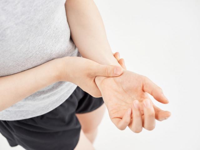 腱鞘炎の写真