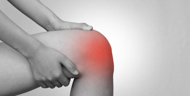 膝関節痛の写真